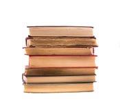 książki odizolowywali starego palowego biel historia Obrazy Stock