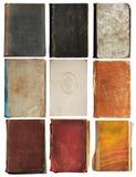 książki odizolowywali starego set Zdjęcie Royalty Free