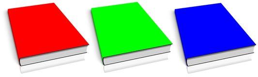 książki pusty rgb szablon Fotografia Stock