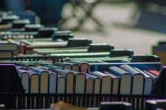 Książki sprzedaje fotografia stock