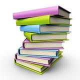 książki sterta Obrazy Stock