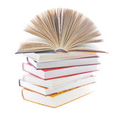 książki sterta obraz royalty free
