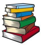 książki sterta