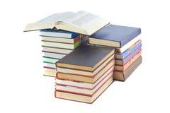 książki sterta zdjęcia royalty free