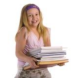 książki target1583_1_ dziewczyny Obrazy Royalty Free