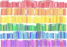 Książki - wektorowa ilustracja ilustracji