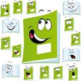 Książkowa ćwiczenie kreskówka Obraz Royalty Free