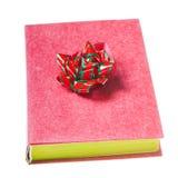 książkowa łęku zieleni czerwień Zdjęcie Royalty Free