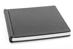 Książkowa czarny skóra Obrazy Royalty Free