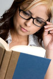 książkowa dziewczyna zdjęcia stock