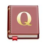 Książkowa ikona Zdjęcie Royalty Free
