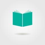 Książkowa ikona z cieniem ilustracji