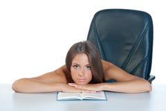 książkowa kobieta fotografia stock