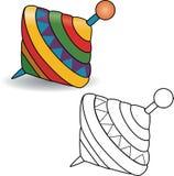 książkowa kolorowa kolorystyki grafiki ilustracja 3d abstrakcjonistycznej sztuki tła kolorowa target2032_0_ ilustracja odizolowyw Obraz Stock