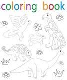 książkowa kolorystyka royalty ilustracja