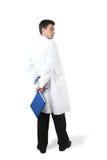 książkowa lekarka Fotografia Stock