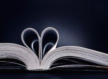 książkowa miłość Zdjęcie Stock
