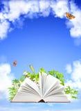książkowa natura ilustracji