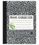 Książkowa ogrodniczka Fotografia Royalty Free