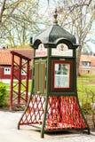 Książkowa skrzynka w Sigtuna, Szwecja - Obrazy Royalty Free