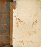 książkowa stara tekstura Zdjęcie Royalty Free