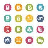Książkowe ikony -- Świeże kolor serie Fotografia Stock