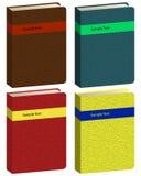książkowe ikony Zdjęcie Royalty Free