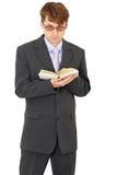książkowe ręki zaludniają trwanie biel Fotografia Royalty Free