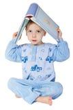 książkowego dziecka mały czytanie obrazy stock