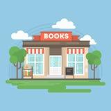 Książkowego sklepu budynek ilustracja wektor