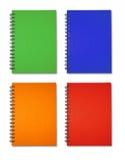 książkowej kolekci notatka Zdjęcie Stock