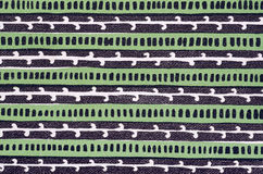 książkowej pokrywy zieleni wzór Fotografia Stock