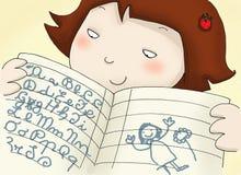 książkowy ćwiczenie Obraz Stock