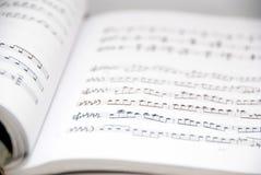 książkowy ścinek zawierać muzyczna ścieżka Obraz Stock