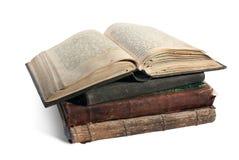 książkowy chrześcijański stary rozpieczętowany psałterz Zdjęcie Royalty Free