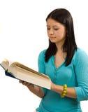 książkowy czytanie Obrazy Stock