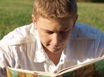 książkowy czytanie Obraz Royalty Free