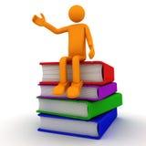 książkowy czytanie Obraz Stock