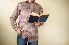 książkowy czytanie Fotografia Stock