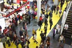 książkowy Del Jarmark międzynarodowy libro salone Turin Zdjęcie Royalty Free