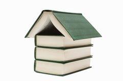 książkowy dom obraz stock