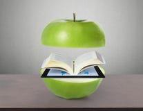 Książkowy i pastylka komputer Zdjęcie Royalty Free