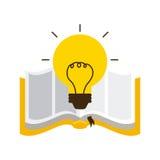 Książkowy ikona projekt ilustracji