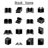 Książkowy ikona set ilustracji