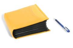 książkowy kolor żółty Obrazy Stock