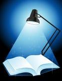 książkowy lampowy jaśnienie ilustracji