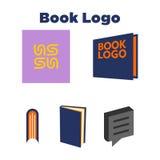 Książkowy loga szablon Zdjęcia Royalty Free