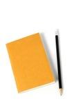 książkowy ołówek Obraz Royalty Free
