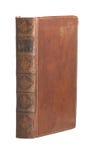 książkowy obszyty rzemienny stary przerzedże Obrazy Stock