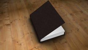 Książkowy otwarcie i zbliżać wewnątrz royalty ilustracja